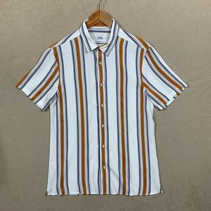 Button Down Shirt Zara Relaxed Fit - Y2K